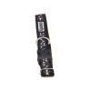 COMFY Ошейник BONNIE (24*42/2,0см) черный, нейлон