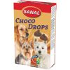 SD2300 SANAL  д/собак Choco Drops 125г (Шоколадные Дропсы + Вит. A, C, D, E)